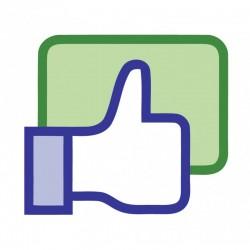 Polubienia pod komentarzem Facebook