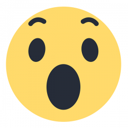 Reakcje Wow do zdjęcia lub filmu Facebook